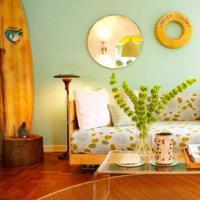Groene muurdecoratie - Kleur muur volwassene kamer ...